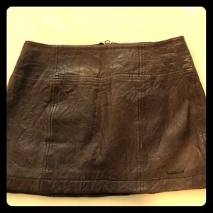 BNWT Leather Skirt from A & F. Size 2